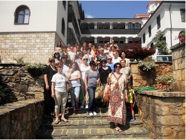 Организацијата на жени при ПОДЕМ во посета на Бигорски Манастир и Манастир Свети Ѓорги Победоносец – с. Рајчица